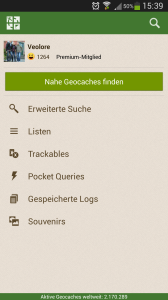 Geocaching App 3.0