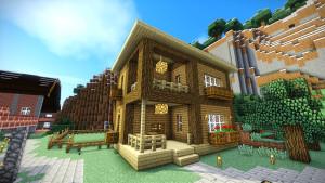 Minecraft Einfaches Bauernhaus Veolore Geocaching - Minecraft haus ideen einfach
